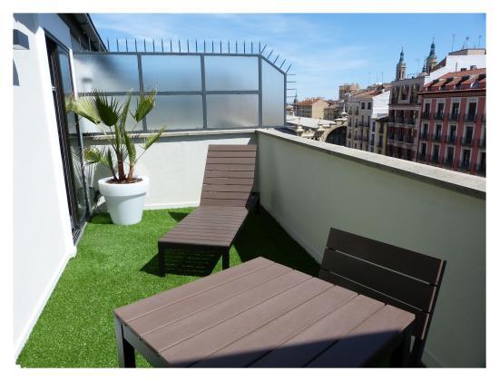 Hotel Avenida: Terraza