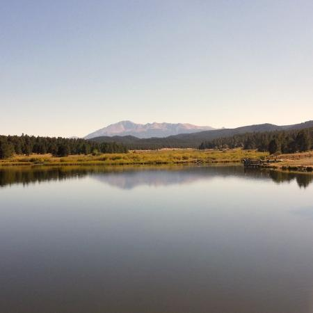 Woodland Park, CO: Awesome view of Pikes Peak