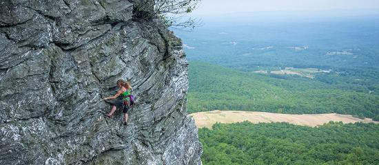 North Carolina: Hanging Rock