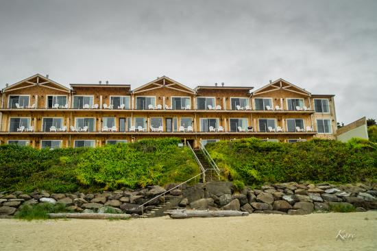 pelican shores inn from the beach picture of pelican shores inn rh tripadvisor com