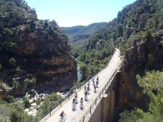 Alquiler de bicicletas vía verde Horta de Sant Joan
