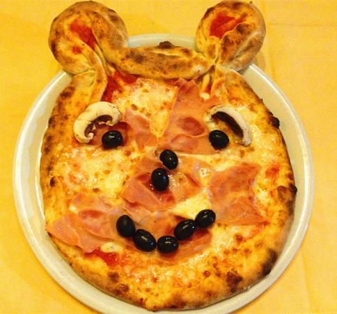 Amato pizza arte per bambini - Foto di VERDE LUNA, Milano - TripAdvisor HK31