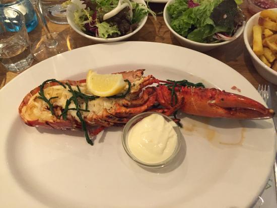 Picture of the seafood bar amsterdam for Seafood bar van baerlestraat amsterdam
