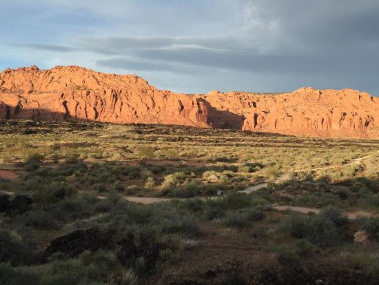 Ivins, UT: View right behind the resort check-in reception area.