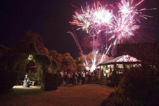 The Old Mill Aldermaston FireWorks