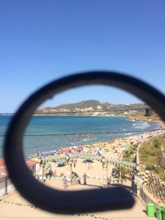 Tigzirt, Algeria: la grande plage