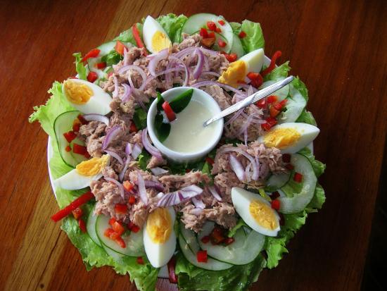 Las Lajas, Panama: Salat-Platte