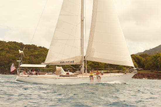 Sail Caneel Bay