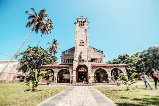 Port Gentil, Gabon: very charming French style cathedrale
