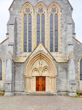 Hamilton, Bermuda: 2016/0411 — Cathedral Of The Most Holy Trinity (Main Entrance)