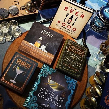 Washington, VA: Large selection of cocktail books.