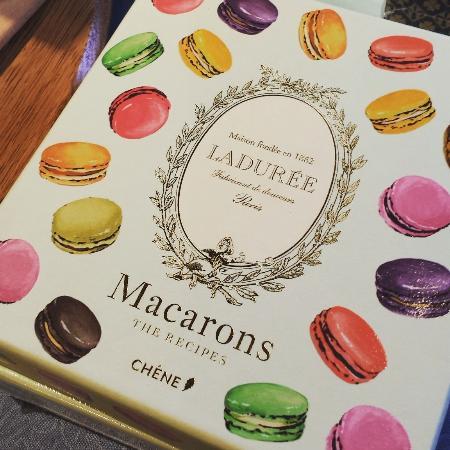 Washington, VA: Best seller, Lauduree Recipe books are pretty and make a great gift.