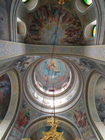 Capriana, Moldova: Great murals.