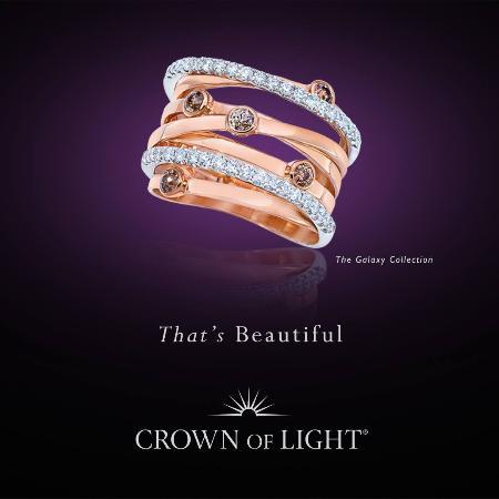 Diamonds International: Crown Of Light Galaxi Ring Great Ideas