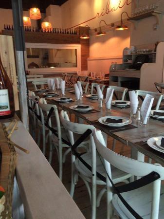 tables set up for our private event picture of ribalta atlanta rh tripadvisor com