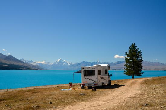 Lake Pukaki Freedom Camping