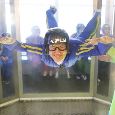 iFLY Utah Indoor Skydiving: Soichiro at iFLY