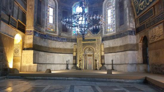 Aya Sofya Müzesi Mihrap - Picture of Hagia Sophia Museum / Church (Ayasofya),...