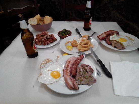 Bar Cafeteria Silverio: almuerzaco