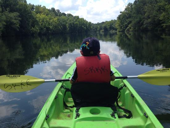 Martinez, GA: A boy and his kayak