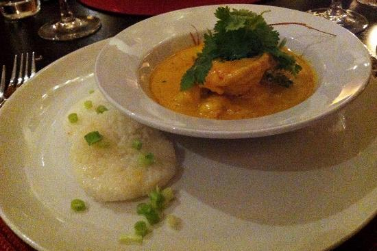 Zachary's Restaurant: Gamberi al Curry