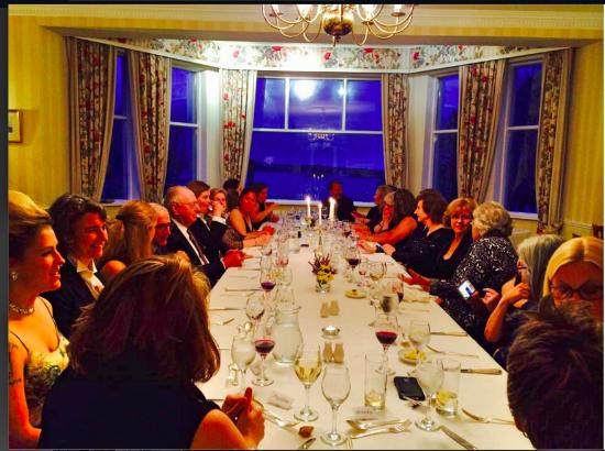 Zetland Country House Hotel: Our dinner party for 26.