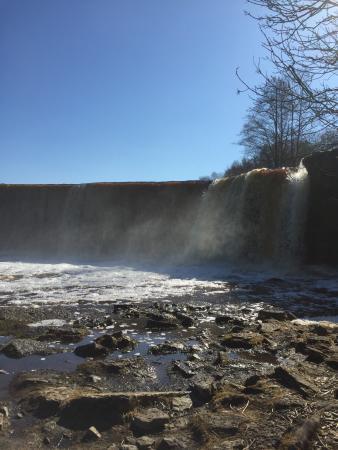 Harju County, إستونيا: The waterfall
