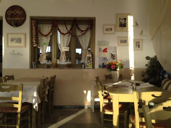 Piso Livadi, Yunani: уютное место