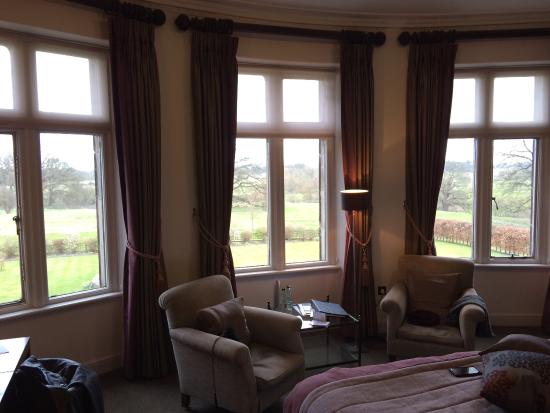 Rookery Hall Hotel & Spa: Lovely view from March room.
