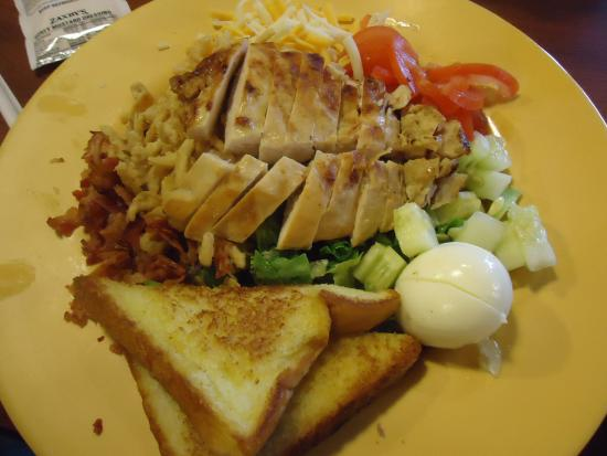 Grilled Chicken Cobb Salad Picture Of Zaxby S Hendersonville