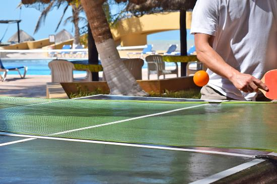 Hotel Reef Yucatan - All Inclusive & Convention Center : Ping Pong