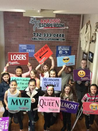 Freehold Amazing Escape Room