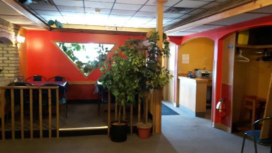 Gimli, كندا: Whitecaps Restaurant & Lounge