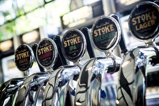 McCashin's Brewery: Stoke Beer on tap