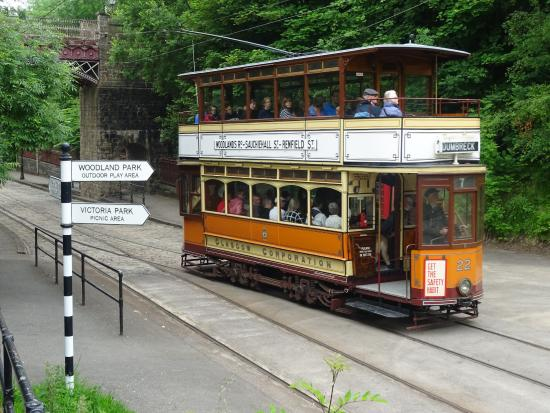 Matlock, UK: A working tram you can ride on.