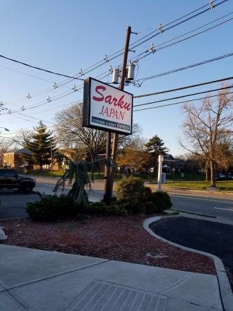 Sarku Japan (Lodi, NJ) - Front Street View Sign