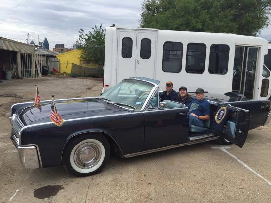 Kennedy Car Picture Of Jfk Custom Tours Dallas Tripadvisor