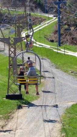 Ober Gatlinburg Amusement Park U0026 Ski Area: Chair Lift Goes To The Top Of The
