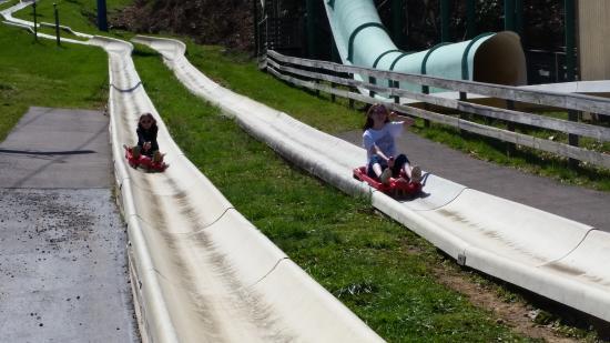 Ober Gatlinburg Amusement Park & Ski Area: The end of the long and fun alpine slide