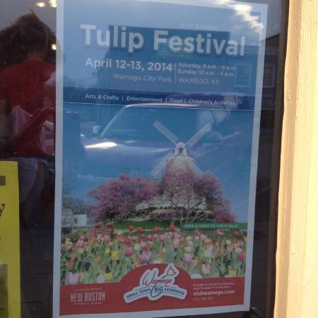 Wamego, KS: Tulip Festival...beautiful location & great family fun!