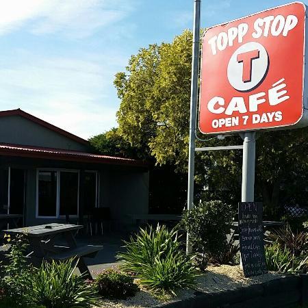 Amberley, Yeni Zelanda: Topp Stop Cafe