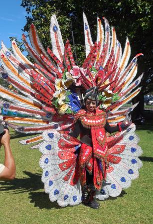 Manukau, New Zealand: Beautiful costumes