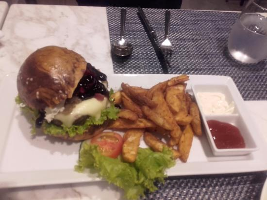 The Belmont Burger Is Good Enough For Two Another Of Chef Dean Manalo S Creations Picture Of