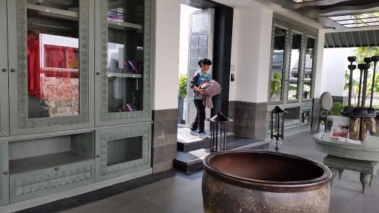 Lingshui County, China: gym and the clothes they provide