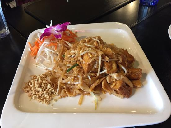 San Anselmo, Kalifornia: Pad Thai Noodles. Very good!
