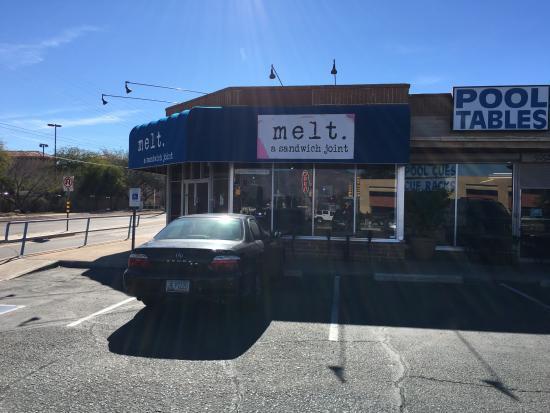 Melt - A Sandwich Joint: Storefront.