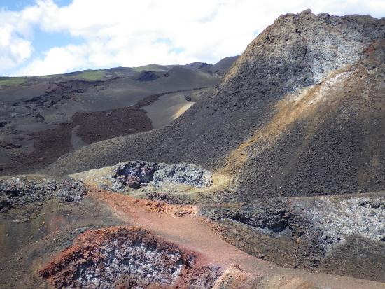 Isabela, Ekwador: randonnée sierra negra