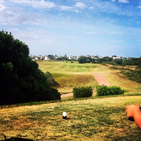 St Francis Bay Golf Club: Never a dull moment.