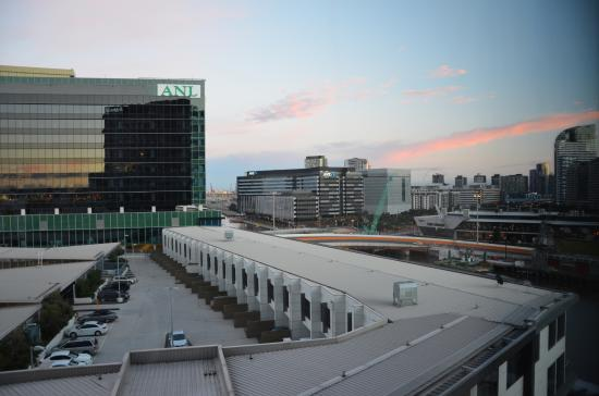 Pan Pacific Melbourne: View from the guest room