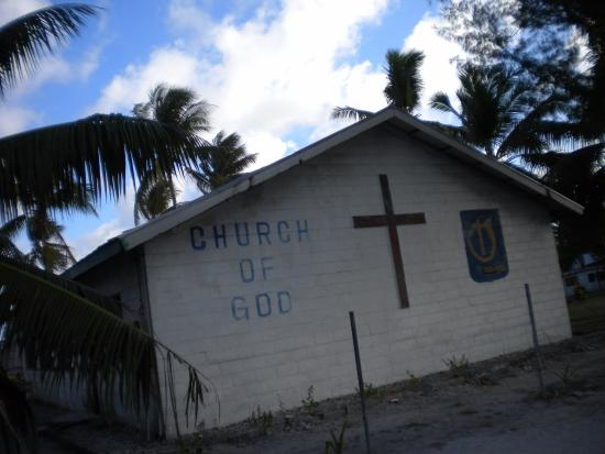 Sacred Heart Cathedral: Kiribati is filled with Christian churches of so many denominations